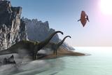 Prehistoric World Poster von Corey Ford