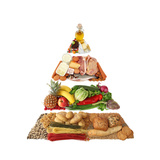 Food Pyramid Premium Giclee Print by  egal