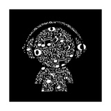 Music Character Prints by  LADISENO