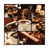 Coffee Collage Pósters por  mythja