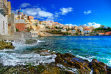 Beautiful Greek Islands Series - Syros Print by  Maugli-l