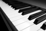 Piano Keyboard Photographic Print by  Gudella