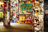 Amazing Urban Location Filled With Graffiti Prints by  sammyc
