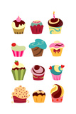Cupcakes Art by  yayayoyo