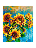 Sunflowers Prints by Boyan Dimitrov