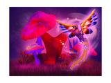 Phoenix Print by  artecke