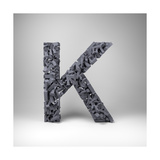 Letter K Prints by  badboo