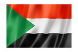 Sudan Flag Posters by  daboost