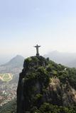 Statue Of Corcovado Cristo Redentor In Rio De Janeiro Brazil, City Of Games Os 2016 Posters by  mangostock