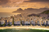 Copacabana Beach Photographic Print by  CelsoDiniz