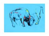 Buffalo Painting Posters af Boyan Dimitrov