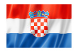 Croatian Flag Posters par  daboost