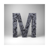 Letter M Prints by  badboo
