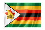 Zimbabwe Flag Posters af daboost