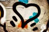 Graffiti Heart Photographic Print by  sammyc