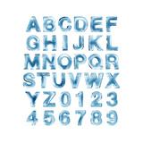 Ice Alphabet Premium Giclee Print by  lenta