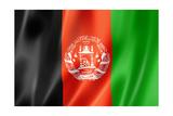 Afghan Flag Reproduction giclée Premium par  daboost