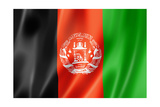 Afghan Flag Prints by  daboost