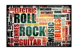 Rock And Roll Prints by  kentoh