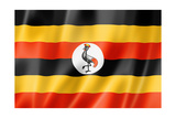 Uganda Flag Posters by  daboost