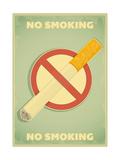No Smoking Sign Plakater af elfivetrov
