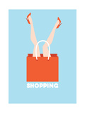 Shopping Prints by  yemelianova