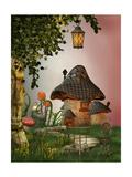Mushroom House Affiches par  justdd