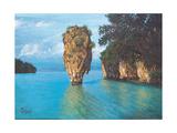Pang-Nga Bay National Park In Thailand Poster by  hinnamsaisuy