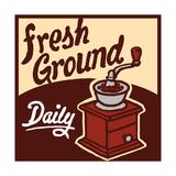Fresh Ground Premium Giclee Print by Bigelow Illustrations