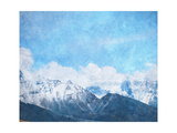 Mountain Landscape Poster by Sergey Nivens