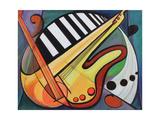 Music Painting Prints by  LoveliestDreams