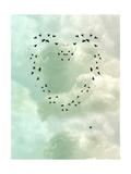 Cœur Posters par  justdd