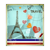 Parisian Postcard Prints by  elfivetrov
