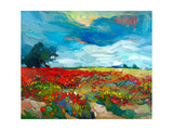 Flower Fields Print by Boyan Dimitrov