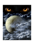 Full Moon Prints by  frenta