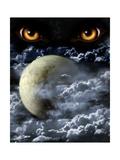 Full Moon Prints by  frenta