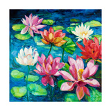 Water Lily Art by Boyan Dimitrov