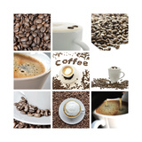 Coffee Collage Plakater av  Gajus