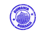 Romania Stamp Art by  radubalint
