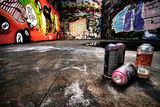 A Derelict Area Of Graffiti Posters by  sammyc