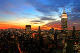 New York City Midtown Skyline Photographic Print by  Gary718