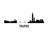 Skyline Taipei Posters by  unkreatives