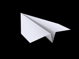 Paper Airplane Photographic Print by  Orla