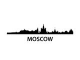Skyline Moscow Prints by  unkreatives