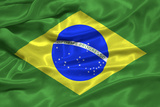 Brazil Flag Photographic Print by Sarah Nicholl