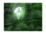 Chadwick: Unicornio Láminas por  artecke