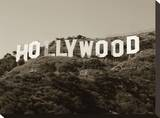 Hollywood Sign I Stretched Canvas Print by Dale MacMillan