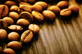 Coffee Beans Background Print by  mythja