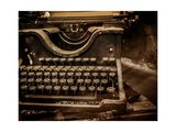 Old Rusty Typewriter Affischer av NejroN Photo