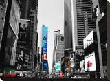 Times Square Highlight Stretched Canvas Print